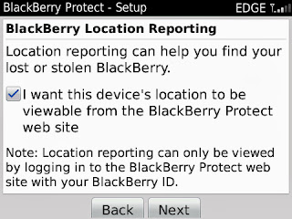 how to locate your blackberry when lost