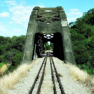 Ponte Ferroviária, Mata, RS