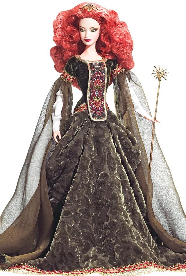 Most wanted dolls barbie deirdre of ulster faerie queen brunette