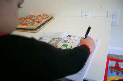 Homeschool Room Montessori prek