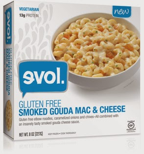 evol gluten free smoked gouda mac & cheese