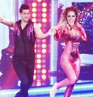 Grace Becerra bailando en El Gran Show