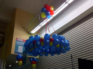 balon lampion careefour