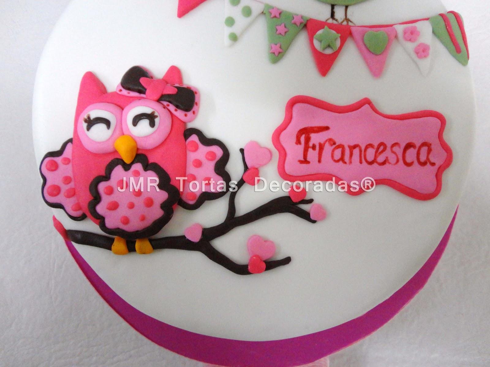 Baño Para Torta Infantil:Torta De Buhos Y Lechuzas Tortas Infantiles 7 Jpg