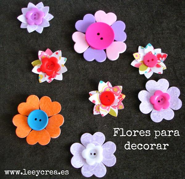 Flores de goma eva para decorar paredes imagui - Flores para decorar paredes ...