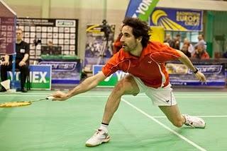 BÁDMINTON-Pablo campeón del torneo polaco