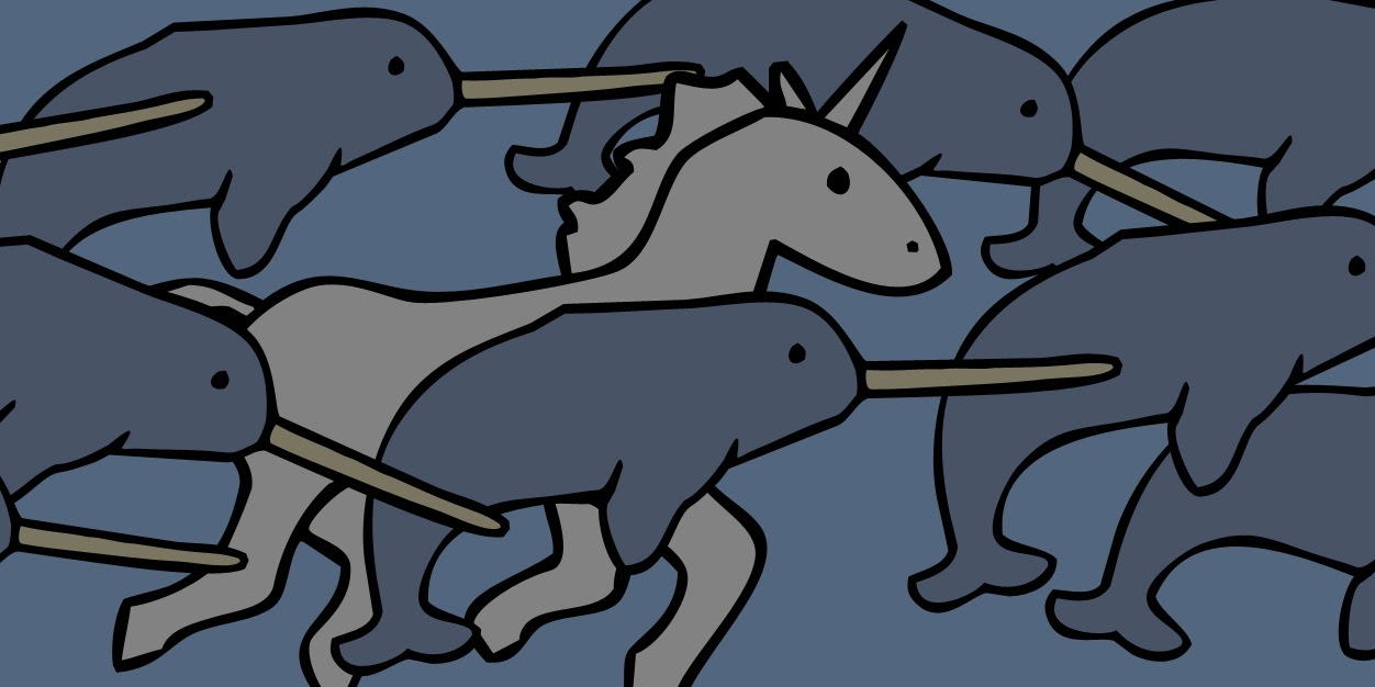Unicorn and Rhino