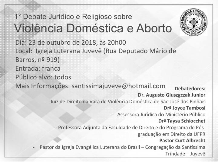 Debate Jurídico e Religioso