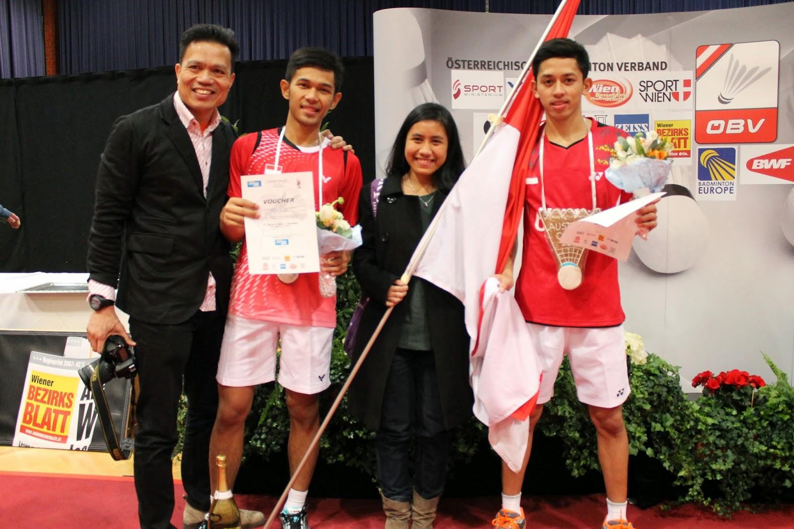 Wel e to PPI Austria Blog Selamat kepada Atlet Badminton Indonesia