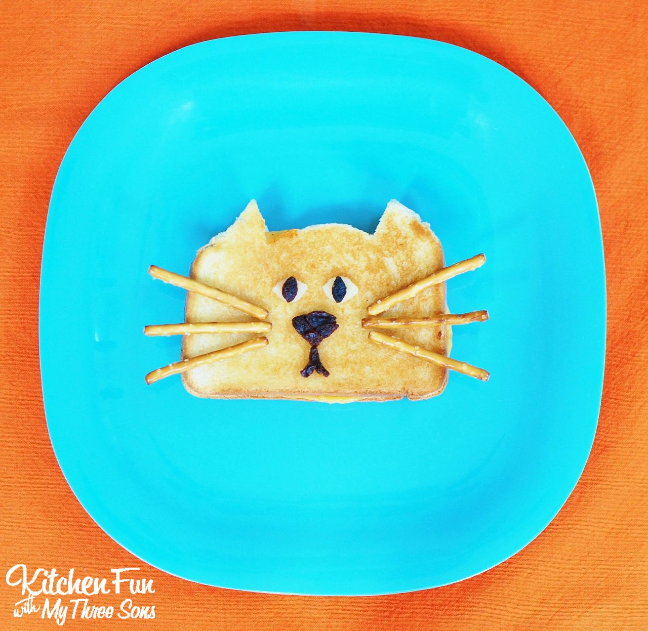 Kitchen Fun And Crafty Friday Link Party 167: Grilled Cheese Cat With A $50 Kroger Giveaway
