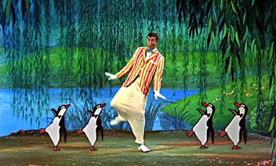 Dick Van Dyke dans Mary Poppins, de Robert Stevenson (1964)