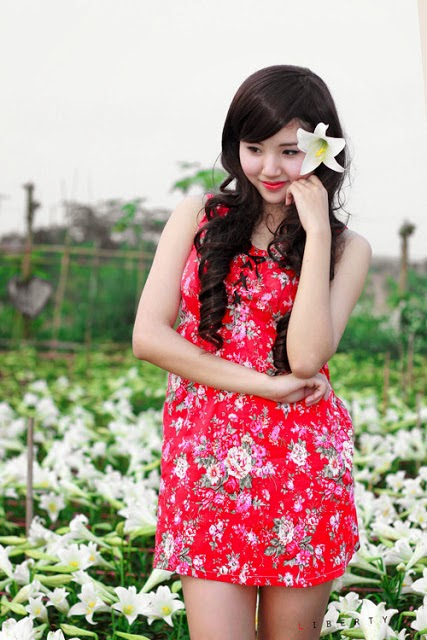 The beauty of a girl from Tuyen Quang