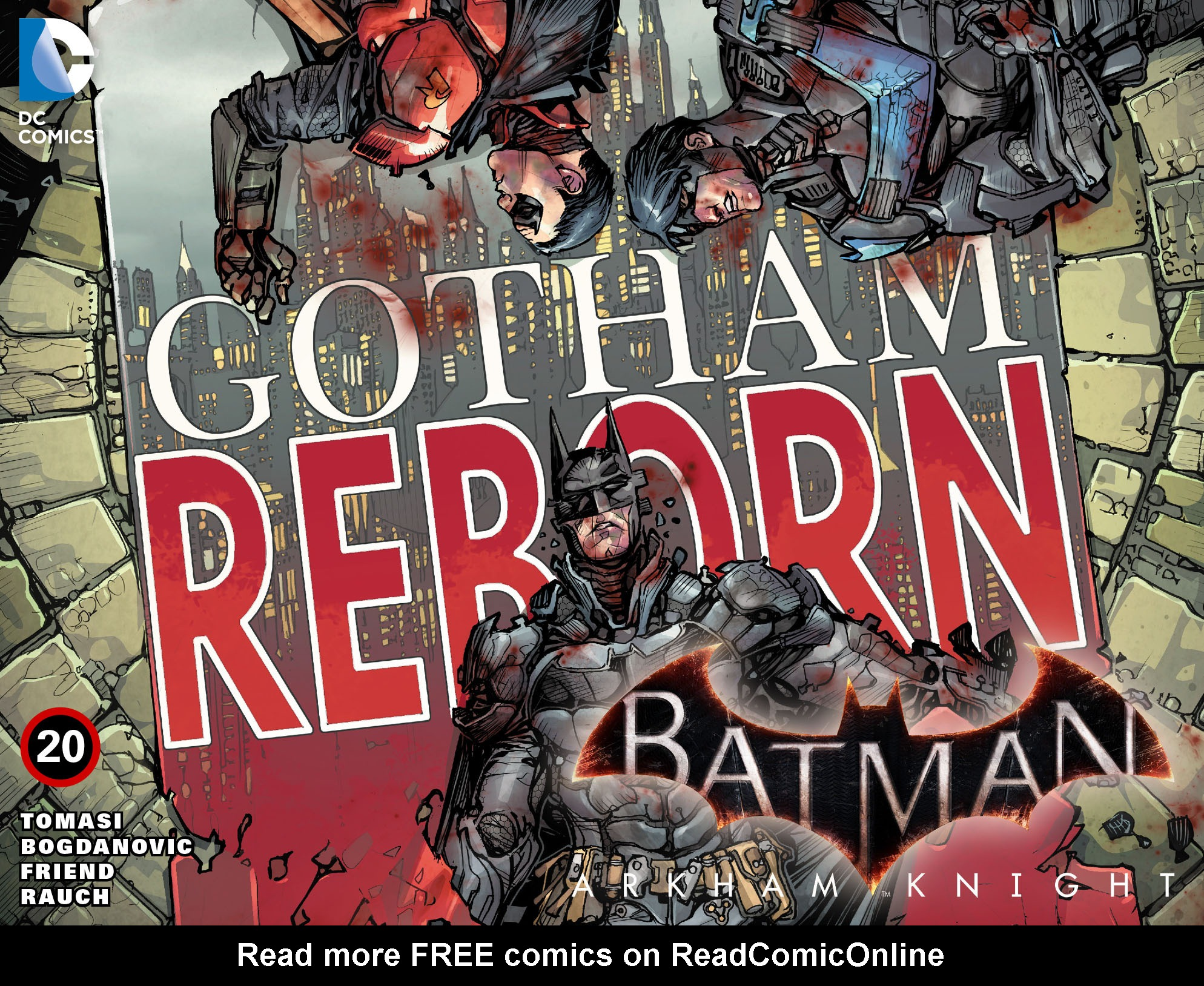 Batman: Arkham Knight [I] Issue #20 #22 - English 1