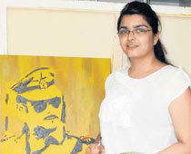 Ankita Prakash Joshi picture, Ankita Prakash Joshi Guinness World Record, Fan To Paint Salman Khan in Space, Salman Khan painted in zero gravity photo