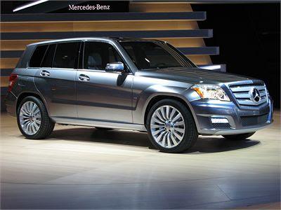 Mercedes-Benz GLK diesel 5 passengers
