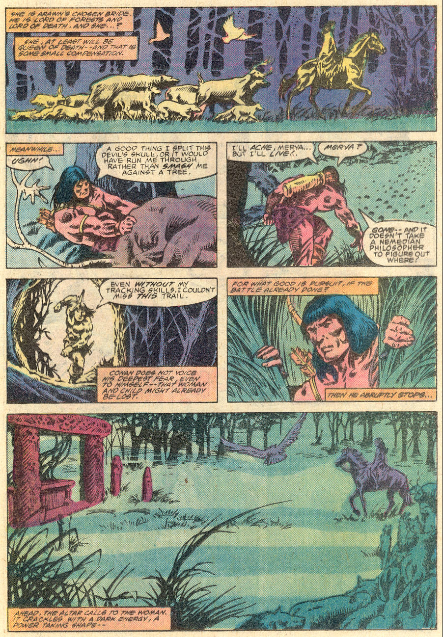 Conan the Barbarian (1970) Issue #135 #147 - English 18