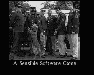 Cannon Fodder Sensible Software credits photo