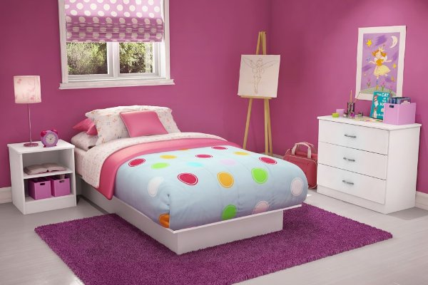 Colorful Bedroom Designs for Girls | Home Designs Plans