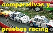 Comparativas y pruebas racing