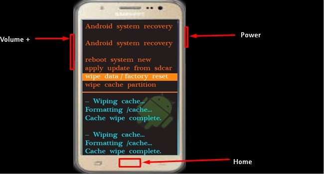 android mobile pattern lock reset