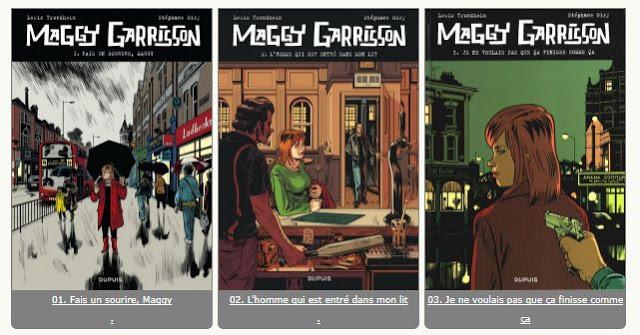 Maggy Garrisson  3 tomes - Trondheim, Lewis et Stéphane Oiry (Série en cours)
