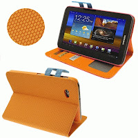 Leather Case Dompet Samsung Galaxy Tab 2 7.0 P3100