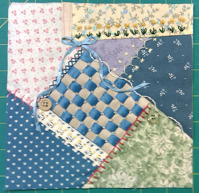 crazy quilt patch #1