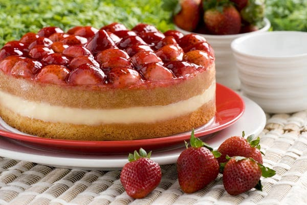Torta de Fresas