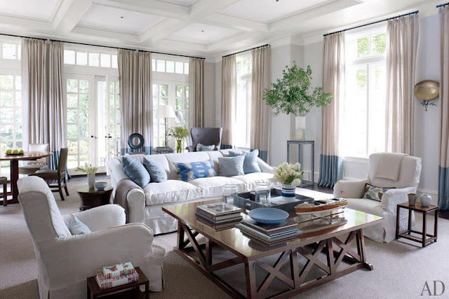Architectural Digest Traditional Living Rooms