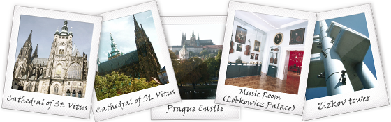 Prague Landmarks mentioned in City of Dark Magic by Magnus Flyte