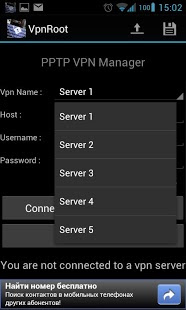 VpnROOT � PPTP � Manager 1.6.6.1 APK Android
