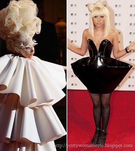 Лейди Гага панделката от коса