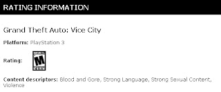 grand theft auto vice city ps3 esrb ESRB Has Rated Grand Theft Auto: San Andreas & Grand Theft Auto: Vice City For PS3
