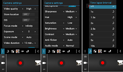 SKK Mobile Radiance Video Settings