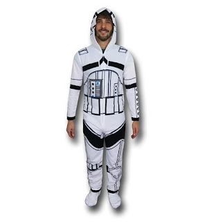 Click here to purchase your hooded Stormtrooper union suit at SuperHeroStuff!