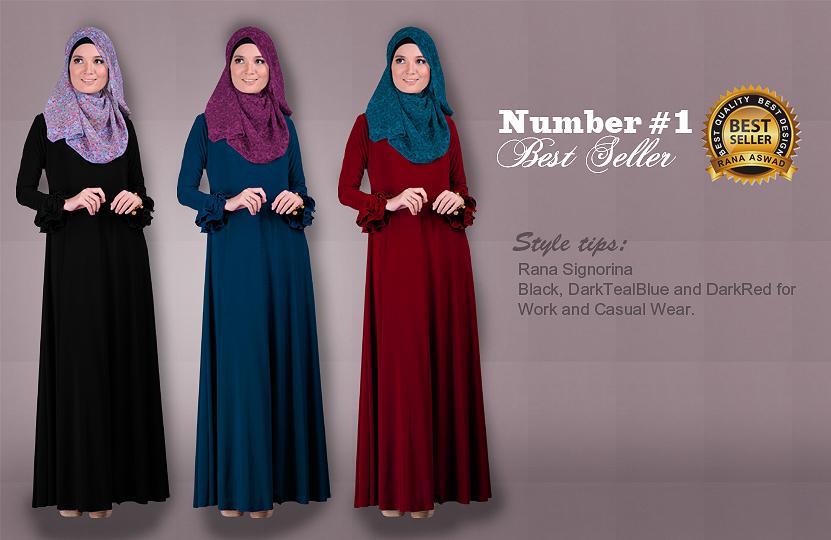 Dress, Jubah Modern, Tudung, Shawl, Jubah, Abaya, Muslimah