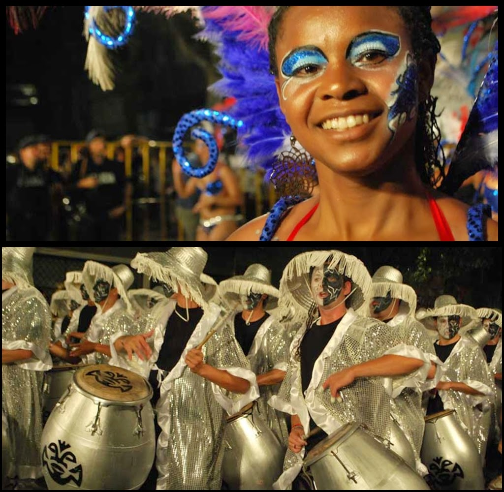 Desfile de Llamadas. Kilombo.. Montevideo. 2011.