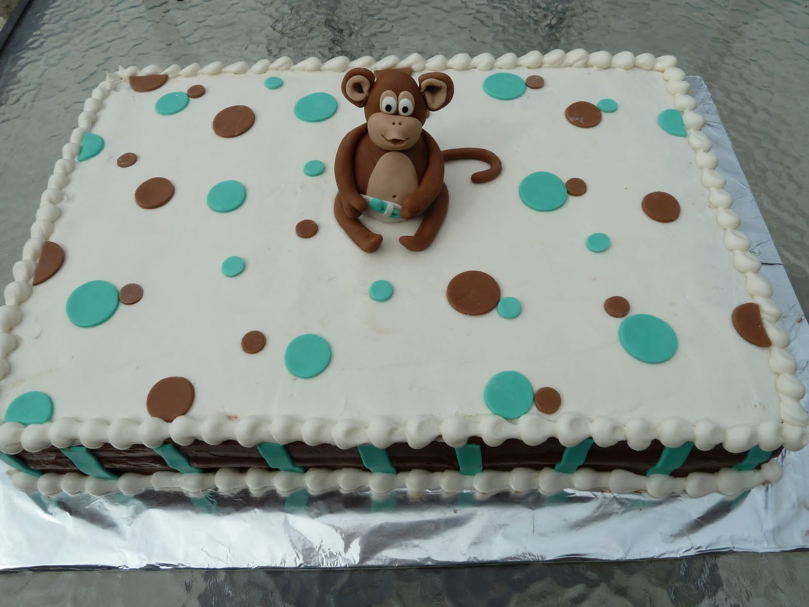 Sweet Shoppe Baby Shower Cakes