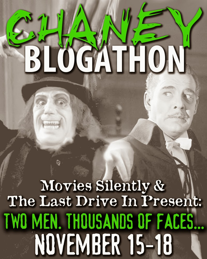 Movies Silently is hosting a Chaney Blogathon in November