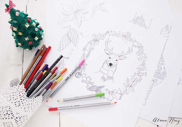 Dibujos navideños para descargar gratis