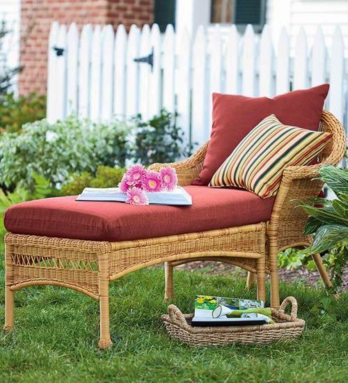Cute houses c mo elegir muebles para terraza jard n o - Cojines muebles exterior ...