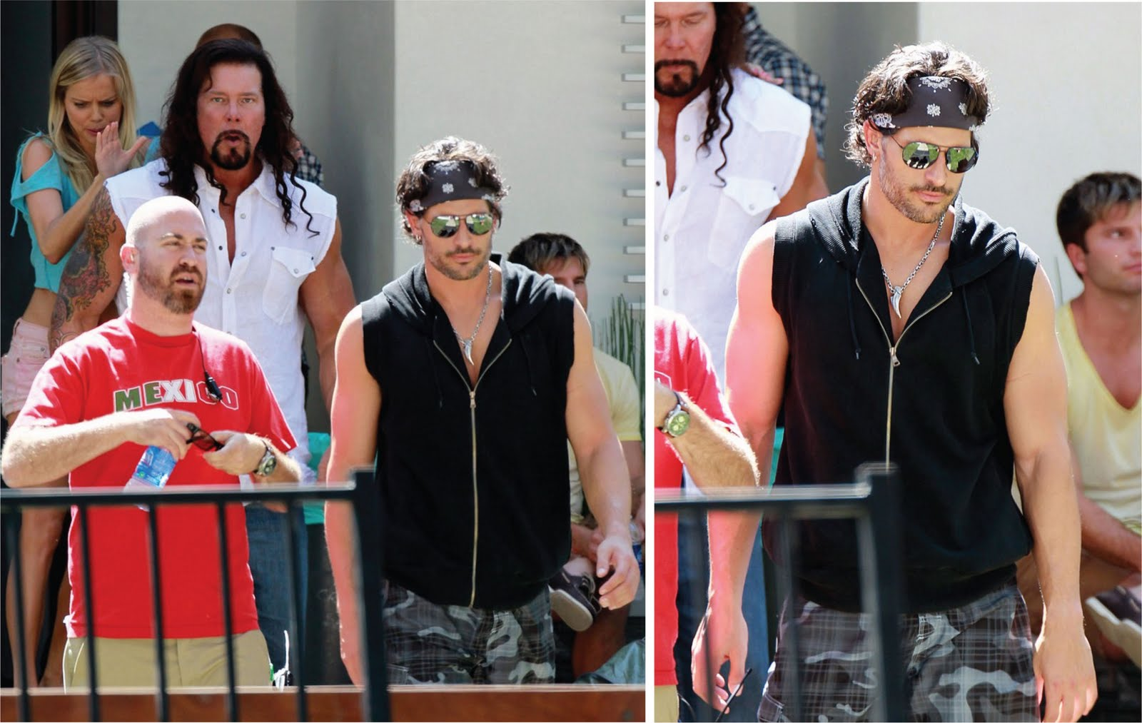 Joe manganiello magic mike pump