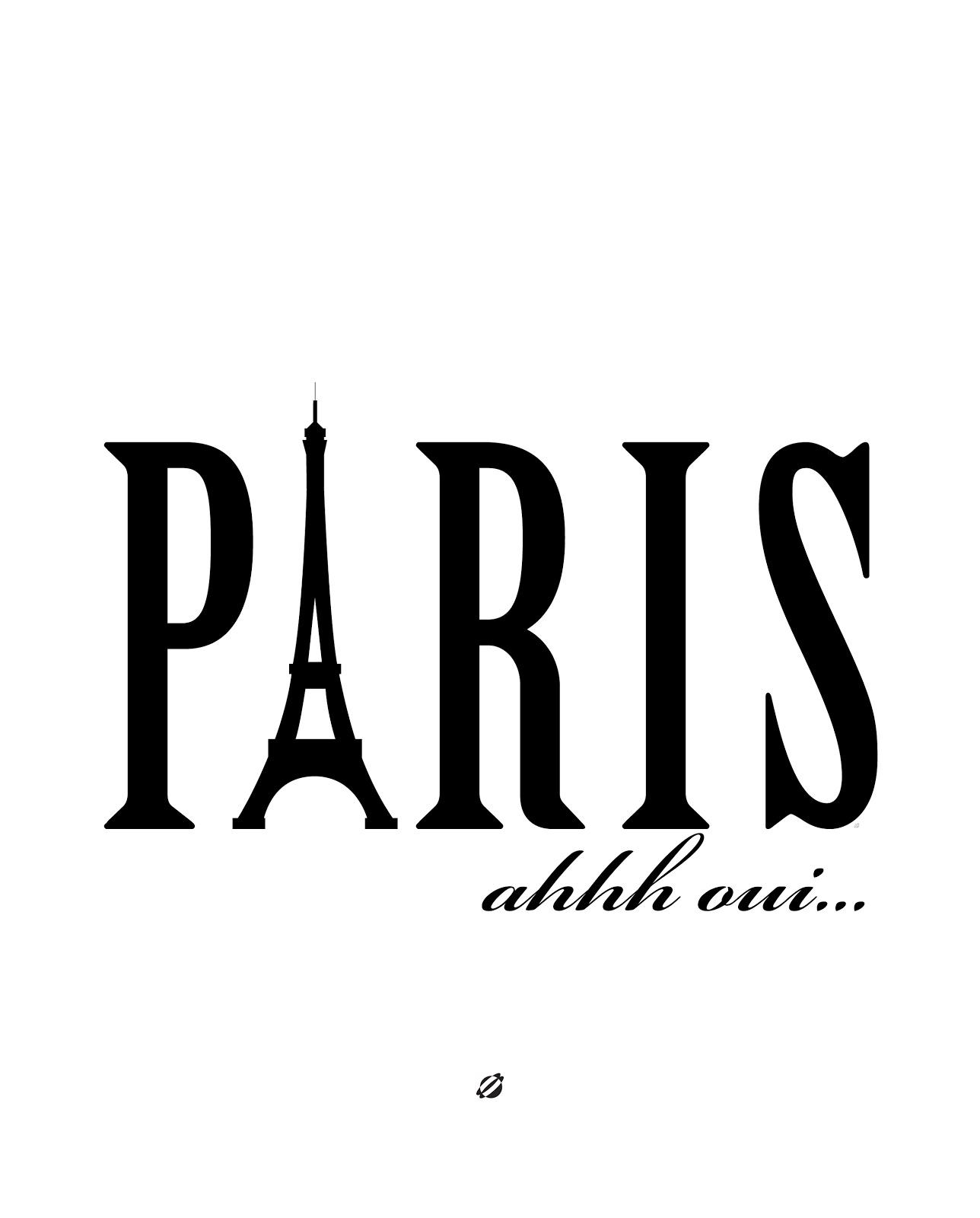 LostBumblebee ©2014 Paris - free Printables