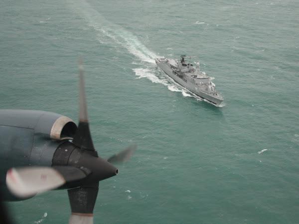 La EA6E presente en la II Etapa de Mar