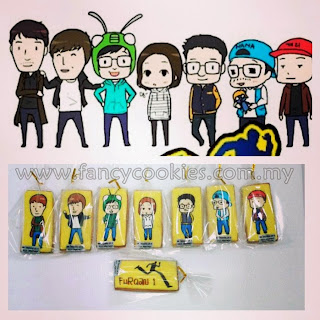 Runningman Fancy Cookies