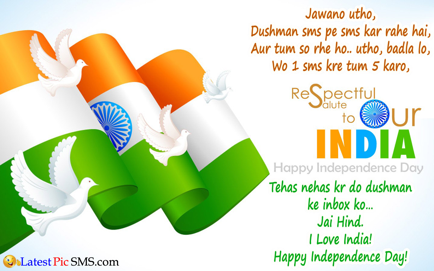 salute india independence day wallpaper