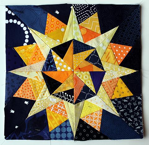 Cactus Star Block
