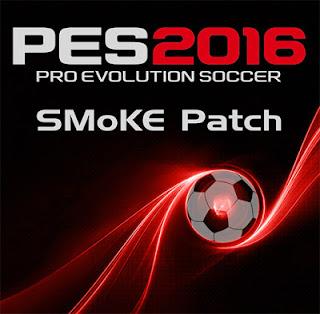 Patch PES 2016 Terbaru dari SMoKE Patch 8.0 AIO