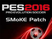 Patch PES 2016 Terbaru dari SMoKE Patch 8.0 AIO