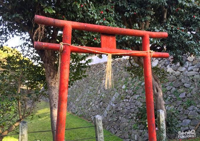 Sanctuaire et remparts du château de Kokura, Fukuoka